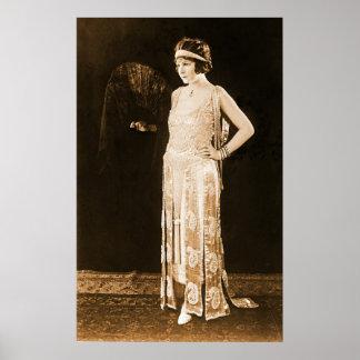 Model Norma Talmadge 1920 Poster