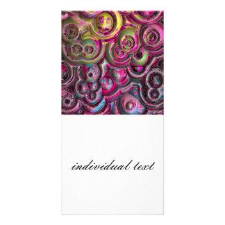 Modern Abstract Art Photo Card