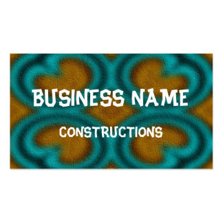 Modern abstract pattern business card templates