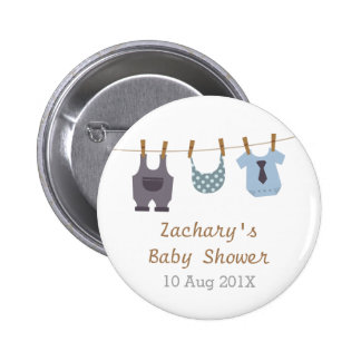 Modern Baby Clothes Baby Boy Shower Party Favors Buttons
