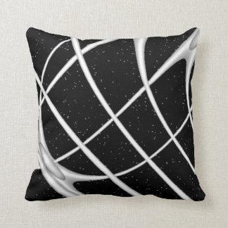 Modern Black and White Art Cushion
