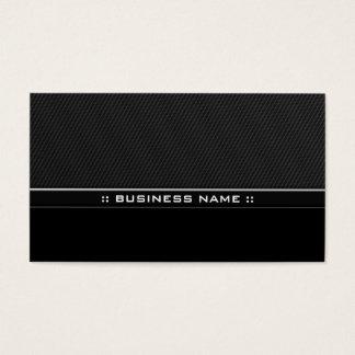 Modern Black Professional Elegant Metal Business Card