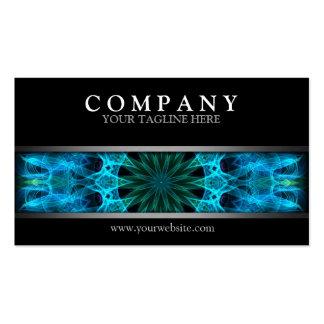 Modern Blue Energy Pack Of Standard Business Cards