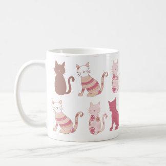 modern cat mug