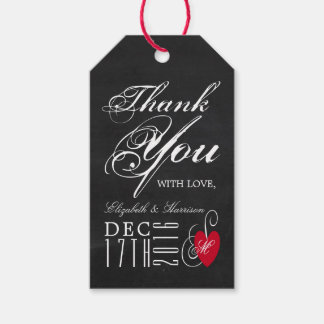 Modern Chalkboard Fancy Heart Wedding