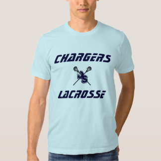 Modern Chargers Lacrosse T-Shirt w/ Lax Guy