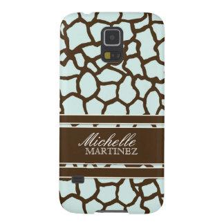 Modern Chic Fashion Giraffe Skin Pattern Phone Galaxy S5 Case
