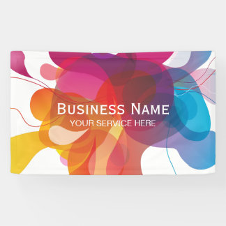 Modern Color Flow Trendy Business Banner