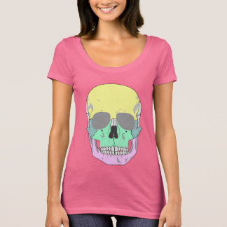 MODERN COLORFUL SKULL T-Shirt