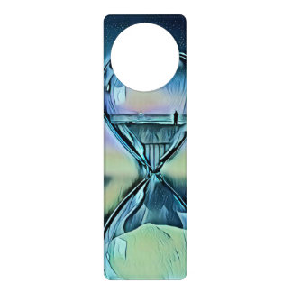 Modern Colourful Hourglass Door Hanger