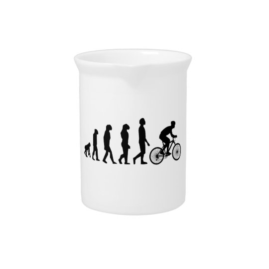Modern Cycling Human Evolution Scheme Pitcher