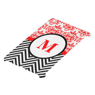 Modern damask monogram cover for the iPad mini