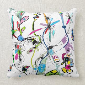 Modern decorative cushion, Alice' S Garden Cushion