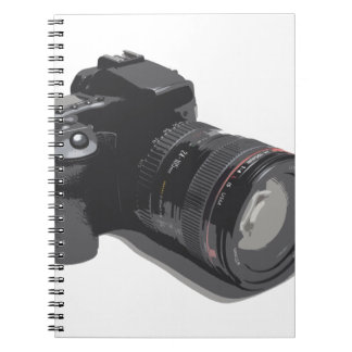 Modern Digital Camera Notebook