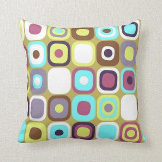 Modern Eames Rectangles 35 Cushion