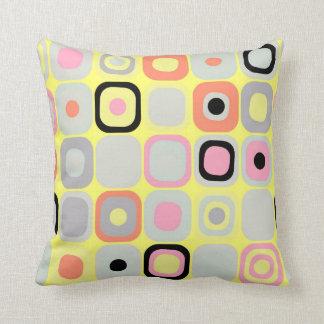 Modern Eames Rectangles 37 Cushion