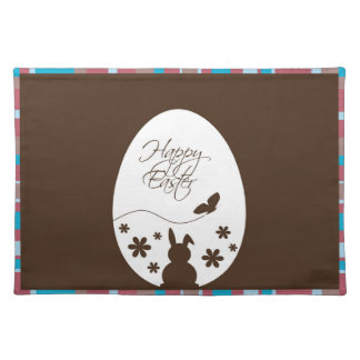 Modern Easter Egg Brown - Placemat