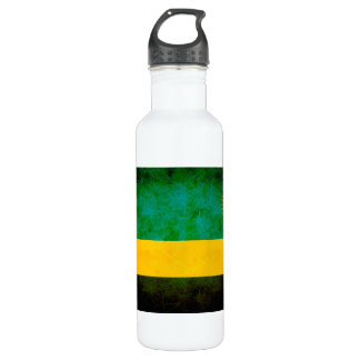 Modern Edgy Rwandan Flag 710 Ml Water Bottle