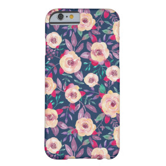 Modern Elegant Chic Flower Stylish iPhone 6 Case Barely There iPhone 6 Case