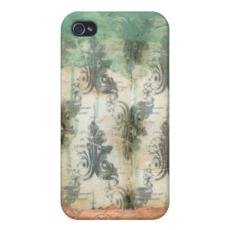 Modern Fleur De Lis Design Case For The iPhone 4