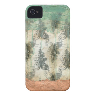 Modern Fleur De Lis Design iPhone 4 Covers