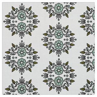 Modern Floral Fabric // Vintage