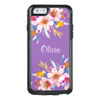Modern Floral Watercolor OtterBox iPhone 6/6s Case