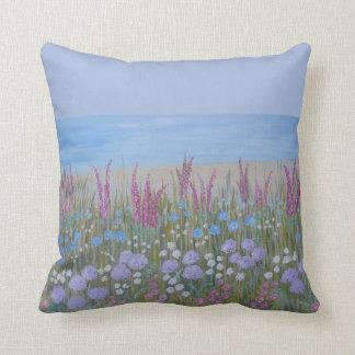 Modern flower artistic design cushion