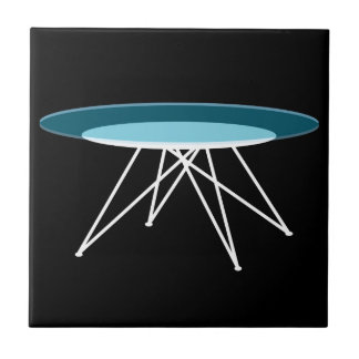 Modern glass coffee table tile