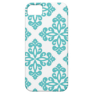 Modern Green and White Pattern Phone Case