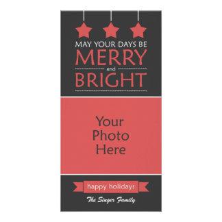 Modern Holiday Photo Card