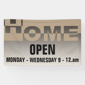Modern HOME Banner + your backgr. & ideas