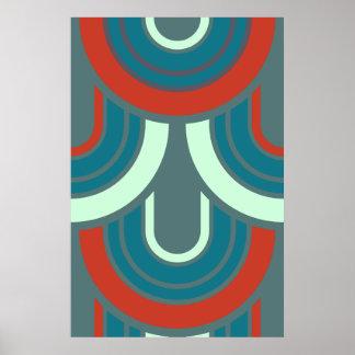Modern Jazz Art Deco Print