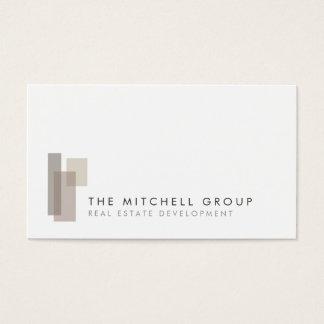 Modern Logo for Real Estate, Builder, Architect Business Card