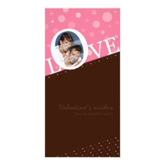 MODERN LOVE PHOTOCARD :: LOVEbubble P5 Customized Photo Card