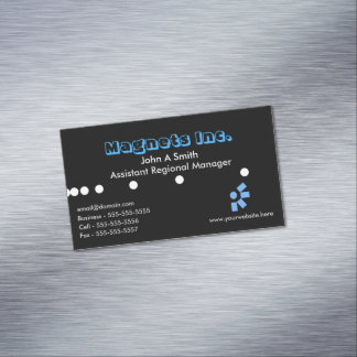 Modern Magnetic Business Card Magnetic Business Cards