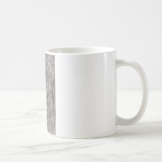 Modern metal static style design in silver grey. coffee mug