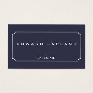 Modern minimalist elegant business card