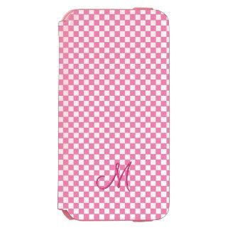Modern Monogram Pattern iPhone Wallet Hard Case Incipio Watson™ iPhone 6 Wallet Case