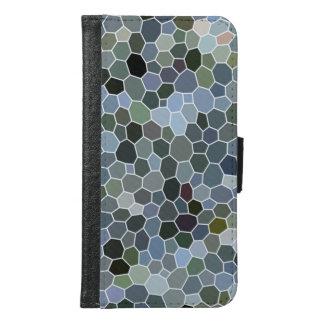 Modern mosaic cool pattern samsung galaxy s6 wallet case