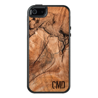 Modern Nature Wood Knots Texture OtterBox iPhone 5/5s/SE Case