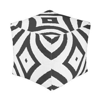 Modern Nested Diamonds Floor Cushion