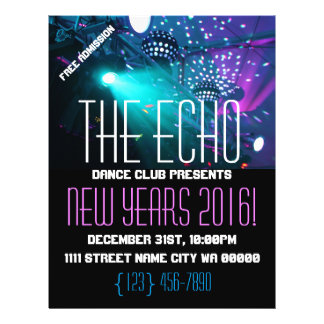 Modern New Years Party Flyer