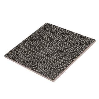 Modern Oriental Pattern Large Square Tile