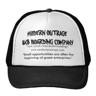 modern outrage sk8ers opportunity hats