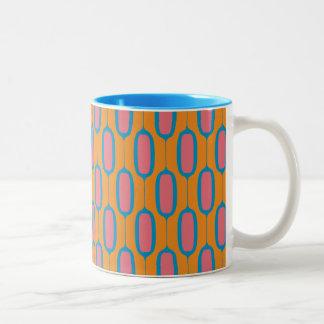 Modern Ovals Two-Tone Coffee Mug