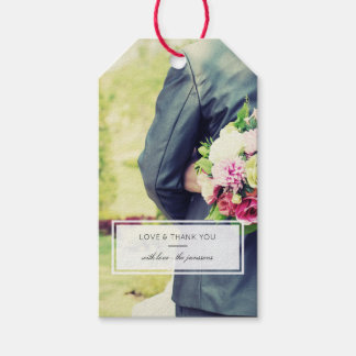 Modern Photo Gift Tags