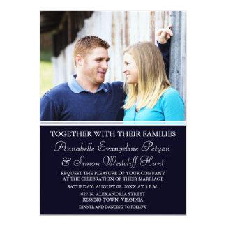 Modern Photo Wedding Invitations
