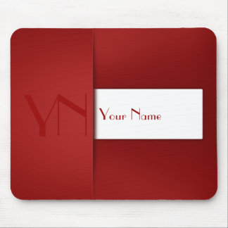 Modern Professional Red Case - Mousepad