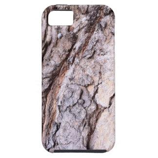 Modern Red Gumtree bark design iPhone 5 Case
